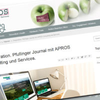 Kooperation. Pfullinger Journal mit APROS Consulting und Services.