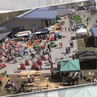 Großes Frühlingsfest im Gewerbegebiet Memmelers Wiese