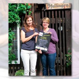 Erstes Open-Air-Kino in Pfullingen