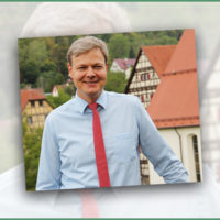 Bürgermeisterwahl in Lichtenstein:  Peter Nußbaum hat noch viel vor