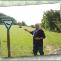 Nussbaumweg in Unterhausen:  Nachhaltiges Projekt des Obst- und Gartenbauvereins Lichtenstein
