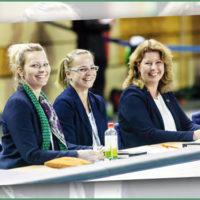 Mittendrin: Anna Kletetschka organisiert die Turn-Weltmeisterschaft in Stuttgart