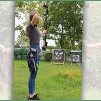 Volltreffer: Bogenschützin Sarah Meurs stellt Rekorde auf