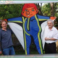 Fliegende Kunstwerke – Peter Hespeler baut meisterhafte Drachen