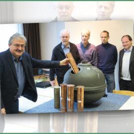 Neue Zeitkapsel – Der Turmknopf wurde neu befüllt
