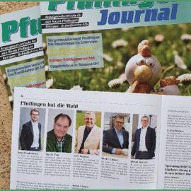 Pfullingen hat die Wahl – Interviews mit den Bürgermeisterkandidaten